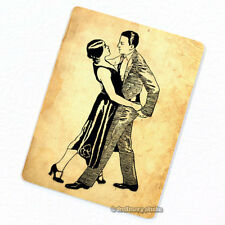 Tango Dancers Deco Magnet, Decorative Fridge Refrigerator Mini Gifts