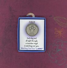 Watching Over AARON Guardian Angel Keepsake Medallion by GANZ