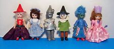 Madame Alexander LOT of 6 Wizard of Oz 2008 McDonald's Dolls Toys 5 inch