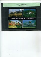 P449 # MALAYSIA USED PICTURE POST CARD * HISTORICAL BUILDINGS