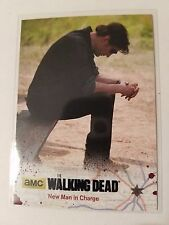 2016 The Walking Dead Season Four Part 1 Black #16 New Man in Charge