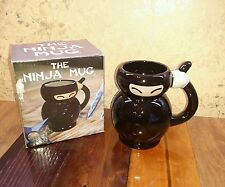 BIGMOUTH Ceramic Coffee Cup - The Ninja Mug Japanese Martial Arts