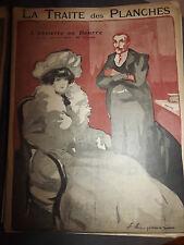 L'ASSIETTE AU BEURRE N°117 juin 1903 dessins de LEMPEREUR LA TRAITE DES PLANCHES