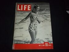 1939 JULY 3 LIFE MAGAZINE - SWIM SUIT IN PACIFIC - BEAUTIFUL FRONT COVER- GG 211