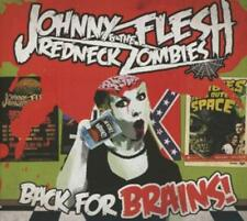 Johnny Flesh & The Redneck Zombies - Back For Brains CD (Psychobilly) (Metal)