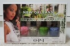 Opi New Orleans Collection Jambalayettes Mini Nail Lacquers Set Of 4 New In Box