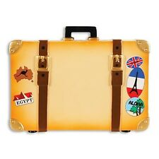 World Travel Trunk Personalized Christmas Tree Ornament X-mass Suitcase Noel New