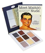 Thebalm Meet Matt(e) Nude Eyeshadow The Balm Palette Matte 9 Shadow Collection