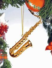 Miniature Tenor Saxophone Ornament (OGSA10T*) with Red Gift Box 4.25 Inches