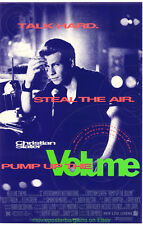 PUMP UP THE VOLUME + KUFFS + MOBSTERS MOVIE POSTER CHRISTIAN SLATER MEGA-DEAL!!!