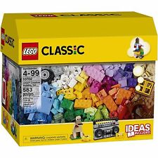 NEW LEGO 10702 CLASSIC BLOCKS CREATIVE BUILDING SET 583 PCS NISB