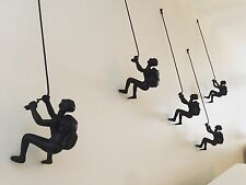 Climbing Man Wall Art Set Of 3 Pieces Best Price Online PRICED TO SELL!!!!
