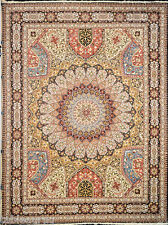 Fabulous Royal Gonbad Persian Area Rug - Finest Gonbad Taabriz 10x13 on ebay