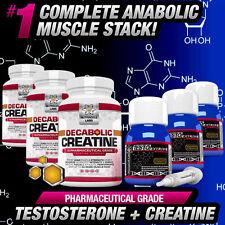 3 mesi ciclo testo anabolizzanti + decabolic Creatina-più forte non steroidi / HGH ALT