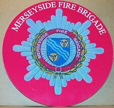 Fire and Rescue Service Merseyside  vinyl sticker.