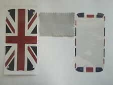Relief Union Jack Back Cover w/ Front Decal Sticker for Samsung  Galaxy i9300 s3