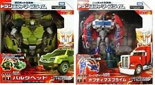 Takara Tomy Transformers Anime AM-01 Optimus Prime + AM-10 Bulkhead AM01 AM10