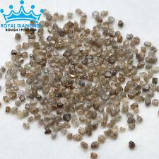 5 crts+ lot 100% Natural Loose Rough Diamonds Dark Brown 1.50mm raw uncut real
