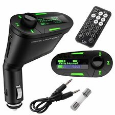 Aux in Mp3 Player Memory card USB car charger for FM transmitter iPod iriver NEW
