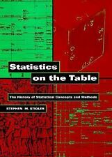 Statistics on the Table: The History of Statistical Concepts and Metho-ExLibrary