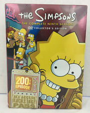 The Simpsons The Complete Ninth Season Collectors Edition DVD 25 Episodes 4 Disc