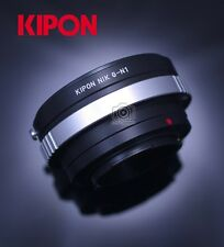 New Kipon Adapter for Nikon G N/G Mount Lens to Nikon 1 Mount N1 J1 S2 V3 Camera