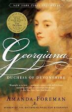 Georgiana : Duchess of Devonshire by Amanda Foreman (2001, Paperback)