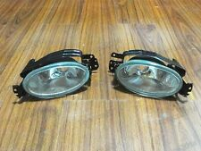 1Pair Replacement Clear Fog Lights Bumper Lamps for Honda Civic 2014 2015