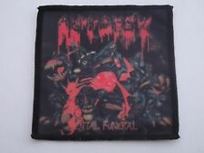 AUTOPSY MENTAL FUNERAL SUBLIMATED PATCH