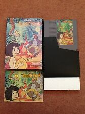 DISNEY'S THE JUNGLE BOOK NINTENDO NES GAME BOXED WITH MANUAL OFFICIAL PAL A