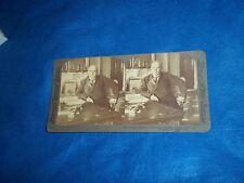 Vintage 1898 President William McKinley Strohmeyer & Wyman Stereograph