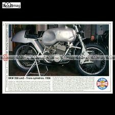#TP Fiche Moto DKW 350 cc 3 CYLINDRES 1956 (Racing Bike)