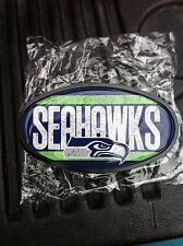 Seattle Seahawks Team Plastic Hitch Cover