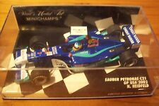 1/43 SAUBER 2002 C21 NICK HEIDFELD GP USA