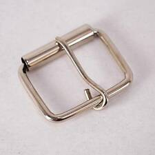 "Lot of 12 Roller Buckles for 1.5"" Wide Belt Strap Leather Hardware Silver Color"