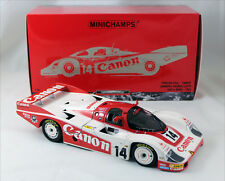 MINICHAMPS 1983 Porsche 956 L Canon Le Mans #14 Team Richard Lloyd 1:18*New!