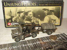 Corgi US50103 US Army M151A1 Mutt Recoilless Rifle Truck in 1:43 Scale.