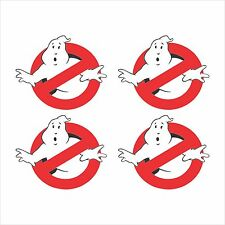 4 - Ghostbusters Logo Window Bumper Laptop Window iPhone Helmet Sticker HS-120