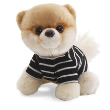 "NEW Gund - Itty Bitty Boo Dog in Stripped Shirt- 5"" 4033190"