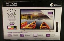 "Hitachi 32"" Class 1080p 60Hz Smart TV  ~ Black (LE32E6R9) ~ Brand New!"