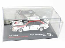 1/43 Audi Quattro A2  Yacco  Rallye Lyon Charbonnieres 1984  B.Darniche