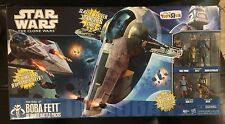 Star Wars Clone Wars RARE TRU Rise of Boba Fett Ultimate Battle Pack Slave 1