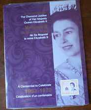 The Diamond Jubilee Of HRH Queen Elizabeth II Volume 2 Stamp Collection Sealed
