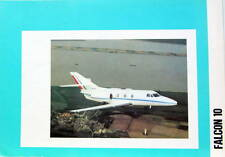 1973  DASSAULT AVION MYSTERE FALCON 10  CATALOGUE AVIATION