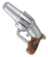 Blow Up Gun Pistol Wild West Cowboy Inflatable SLIVER small gun