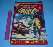 MARVEL FAMOUS COVERS THE TOMB OF DRACULA #1 POSTER PIN UP