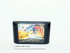 JEU SEGA MEGA DRIVE SONIC THE HEDGEHOG SPINBALL