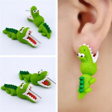 Women Girl Cute Cartoon 3D Animal Earrings Polymer Clay Ear Stud Earrings GiftIT