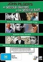 John Pilger's No Middle Ground in the Middle East DVD Region 4 (VG Condition)