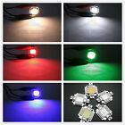 1PCS 10W Multi-Color Light High Power 900-1000LM LED SMD Chip 9-12V DIY Car Lamp